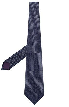 Мужской шелковый галстук RALPH LAUREN темно-синего цвета, арт. 791694808 | Фото 2