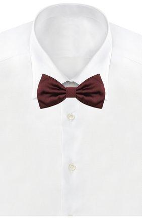 Мужской шелковый галстук-бабочка DOLCE & GABBANA бордового цвета, арт. GR053E/G0U05 | Фото 2