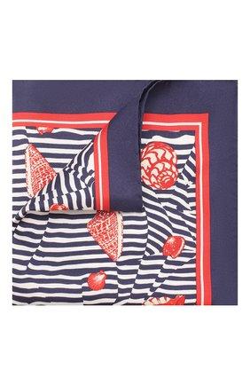 Мужской шелковый платок DOLCE & GABBANA разноцветного цвета, арт. GR412E/G0X60   Фото 1