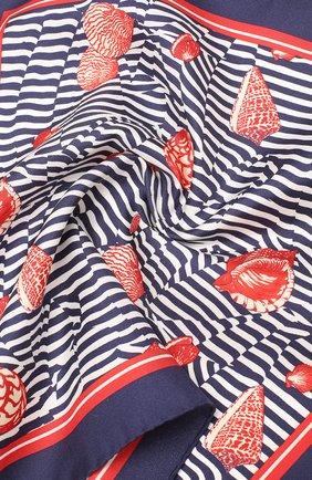 Мужской шелковый платок DOLCE & GABBANA разноцветного цвета, арт. GR412E/G0X60   Фото 2