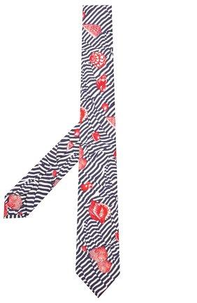 Мужской шелковый галстук DOLCE & GABBANA разноцветного цвета, арт. GT149E/G0WLQ | Фото 2