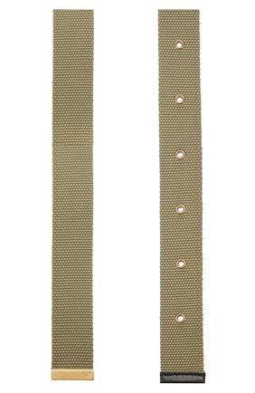 Мужской текстильный ремень valentino garavani VALENTINO хаки цвета, арт. TY0T0R45TIB | Фото 2