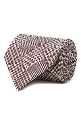 Мужской шелковый галстук TOM FORD розового цвета, арт. 7TF17/XT0 | Фото 1