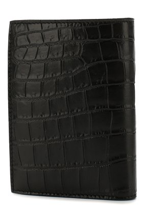Мужской кожаное портмоне SAINT LAURENT черного цвета, арт. 607679/DZEDW | Фото 2