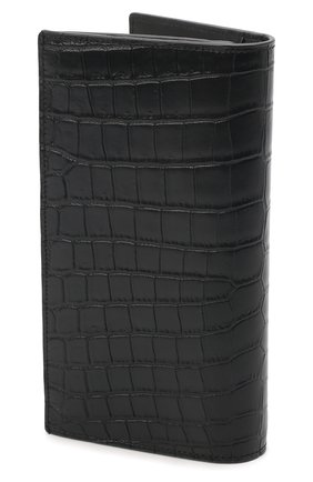 Мужской кожаное портмоне SAINT LAURENT черного цвета, арт. 607746/DZEDW | Фото 2