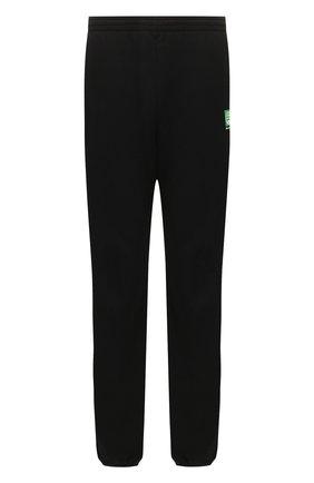 Мужские хлопковые джоггеры BALENCIAGA черного цвета, арт. 570812/THV64 | Фото 1