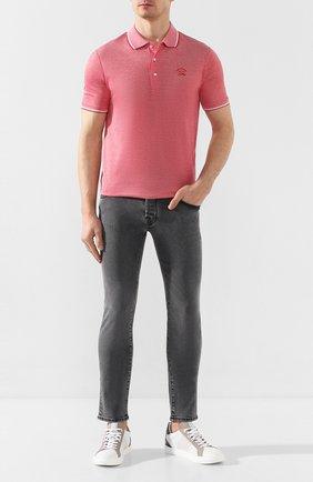 Мужские джинсы JACOB COHEN темно-серого цвета, арт. J622 SLIM C0MF 01856-W3/53 | Фото 2