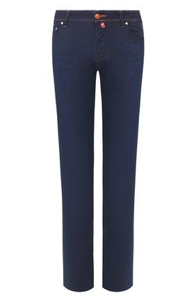 Мужские джинсы JACOB COHEN темно-синего цвета, арт. J625 C0MF 01846-W1/53   Фото 1