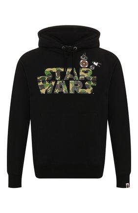 Хлопковое худи Bape x Star Wars | Фото №1