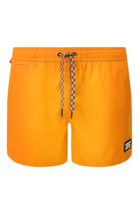 Детского плавки-шорты BURBERRY оранжевого цвета, арт. 8022640 | Фото 1