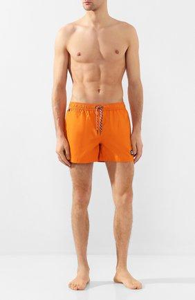 Детского плавки-шорты BURBERRY оранжевого цвета, арт. 8022640 | Фото 2