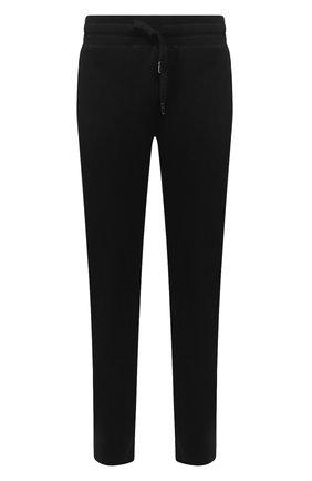 Мужской хлопковые брюки DOLCE & GABBANA темно-синего цвета, арт. GYWEAT/FU7DU | Фото 1