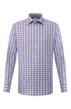 Мужская хлопковая сорочка ETON синего цвета, арт. 1000 01215 | Фото 1
