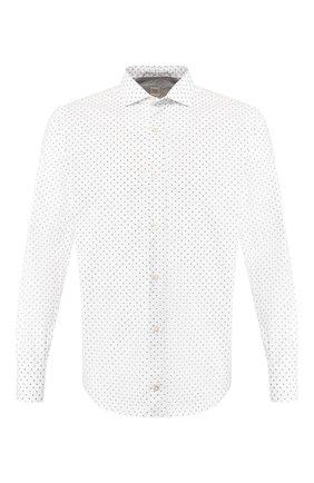 Мужская хлопковая рубашка ELEVENTY белого цвета, арт. A70CAMA01 TES0A187 | Фото 1