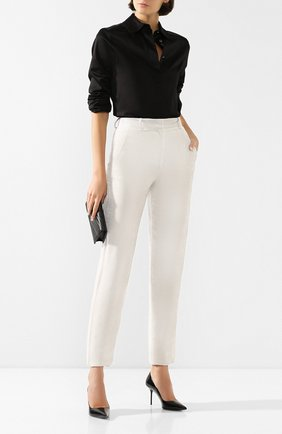 Бархатные брюки | Фото №2