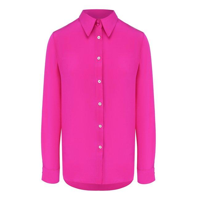 Шелковая рубашка Adam Lippes