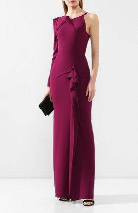 Женское платье-макси ROLAND MOURET фиолетового цвета, арт. PS20/S0837/F2241 | Фото 2