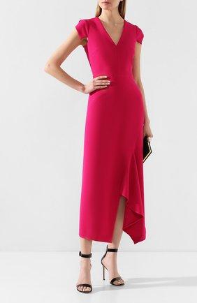 Женское платье ROLAND MOURET фуксия цвета, арт. PS20/S0840/F2196 | Фото 2