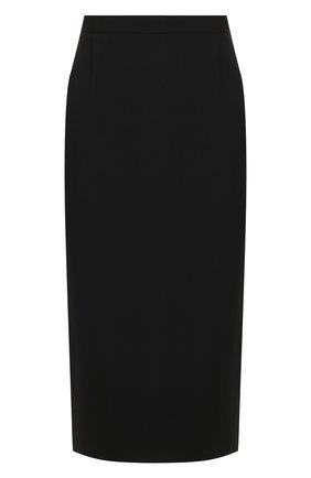 Женская юбка ROLAND MOURET черного цвета, арт. PS20/S4134/F2241 | Фото 1