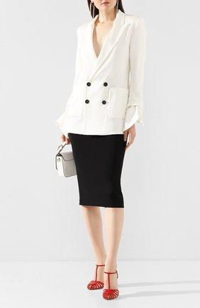 Женская юбка ROLAND MOURET черного цвета, арт. PS20/S4134/F2241 | Фото 2
