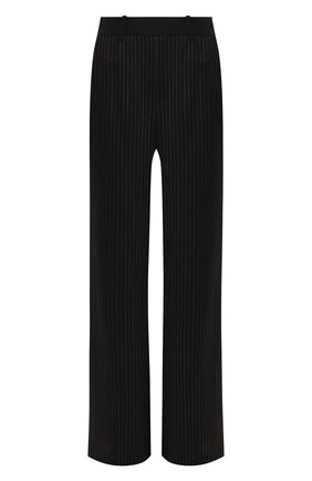 Женские шерстяные брюки ROLAND MOURET черного цвета, арт. PS20/S5077/F0384 | Фото 1