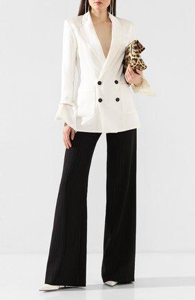 Женские шерстяные брюки ROLAND MOURET черного цвета, арт. PS20/S5077/F0384 | Фото 2