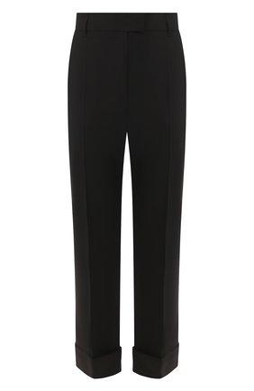 Женские шерстяные брюки ESCADA SPORT черного цвета, арт. 5031874 | Фото 1