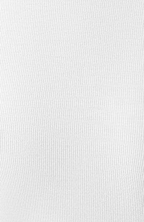 Женская лонгслив ATM ANTHONY THOMAS MELILLO белого цвета, арт. AW1051-EC | Фото 5 (Рукава: Длинные; Принт: Без принта; Длина (для топов): Стандартные; Стили: Минимализм, Кэжуэл)