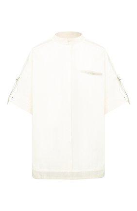 Женская хлопковая рубашка YVES SALOMON белого цвета, арт. 20EYH04070C0XW | Фото 1