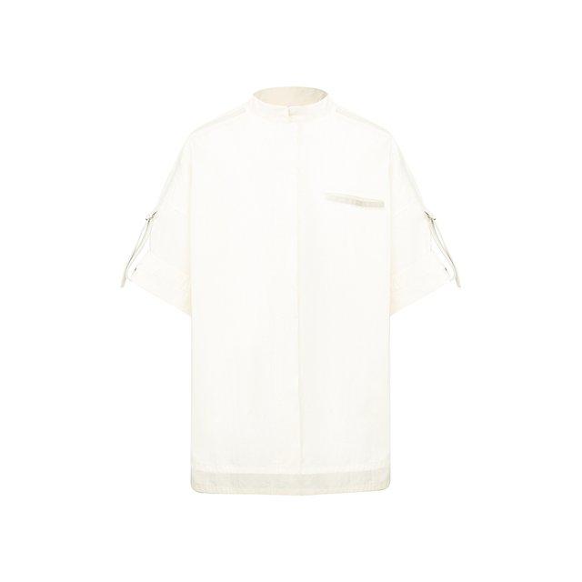 Хлопковая рубашка Yves Salomon
