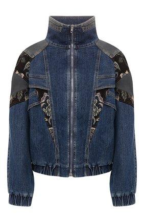 Женская джинсовая куртка STELLA MCCARTNEY темно-синего цвета, арт. 600319/SNH62 | Фото 1