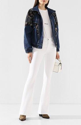 Женская джинсовая куртка STELLA MCCARTNEY темно-синего цвета, арт. 600319/SNH62 | Фото 2
