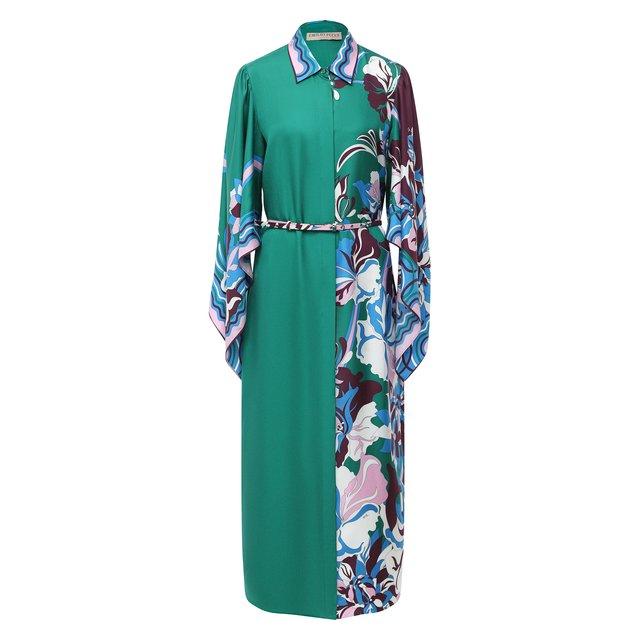 Шелковое платье Emilio Pucci