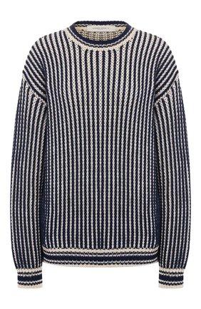 Женская свитер GOLDEN GOOSE DELUXE BRAND синего цвета, арт. G36WP081.A1 | Фото 1