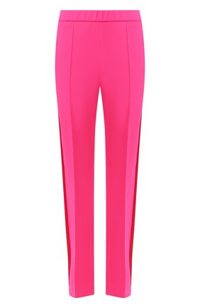 Женские брюки с лампасами GOLDEN GOOSE DELUXE BRAND розового цвета, арт. G36WP022.B2 | Фото 1