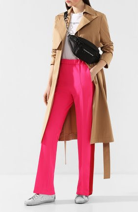 Женские брюки с лампасами GOLDEN GOOSE DELUXE BRAND розового цвета, арт. G36WP022.B2 | Фото 2