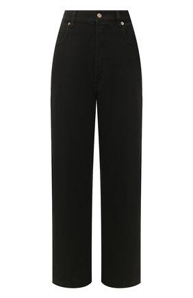 Женские джинсы GOLDEN GOOSE DELUXE BRAND черного цвета, арт. G36WP007.B1 | Фото 1
