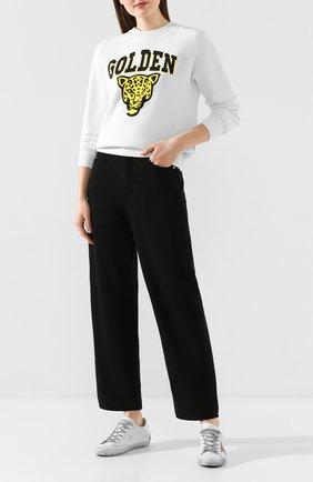 Женские джинсы GOLDEN GOOSE DELUXE BRAND черного цвета, арт. G36WP007.B1 | Фото 2