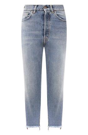 Женские джинсы GOLDEN GOOSE DELUXE BRAND голубого цвета, арт. G36WP005.A1 | Фото 1