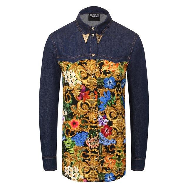 Джинсовая блузка Versace Jeans Couture