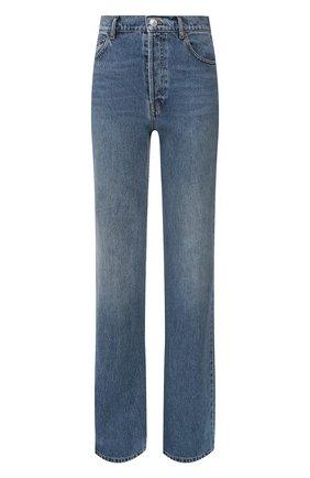 Женские джинсы BALENCIAGA синего цвета, арт. 594390/TDW14   Фото 1