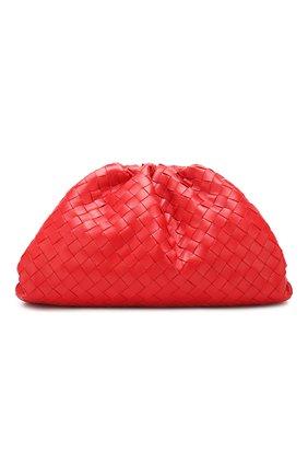 Женский клатч pouch BOTTEGA VENETA красного цвета, арт. 576175/VCPP0   Фото 1