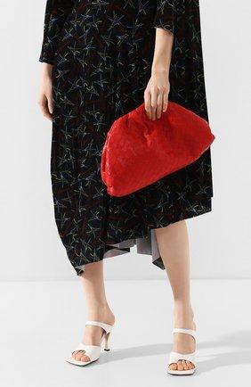 Женский клатч pouch BOTTEGA VENETA красного цвета, арт. 576175/VCPP0   Фото 2