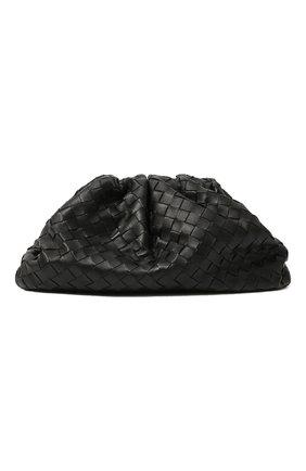 Женский клатч pouch BOTTEGA VENETA черного цвета, арт. 576175/VCPP0   Фото 1