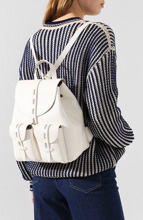 Женский рюкзак net small FURLA белого цвета, арт. BACW/HSF | Фото 2
