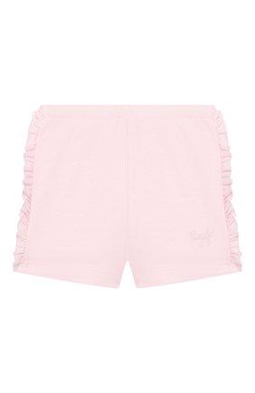 Детские хлопковые шорты IL GUFO светло-розового цвета, арт. P20PS075M0014/12M-18M | Фото 1