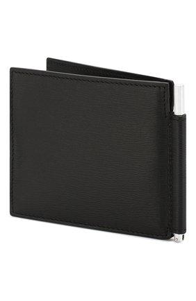 Мужской кожаный зажим для денег TOM FORD черного цвета, арт. Y0231P-LCL053 | Фото 2