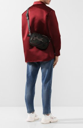 Мужская текстильная сумка valentino garavani vlogo VALENTINO хаки цвета, арт. TY2B0874/XAL | Фото 2
