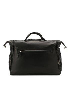 Мужская кожаная дорожная сумка GIORGIO BRATO черного цвета, арт. BS20S3100VTBL | Фото 1