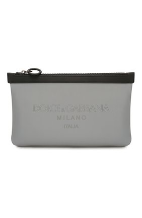 Мужская поясная сумка palermo reflector DOLCE & GABBANA серого цвета, арт. BM1730/AJ640 | Фото 1